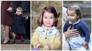 Prince William & Kate Middletons Daughter Princess Charlotte | 2017