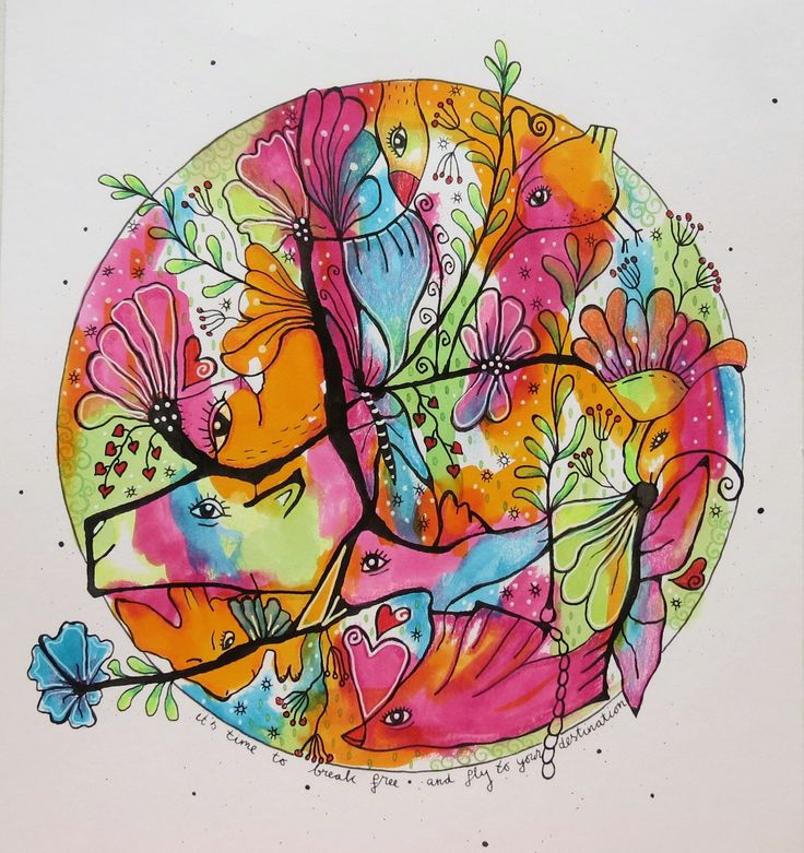 Indian ink and watercolor ink. More on :  http://goo.gl/56WXvA