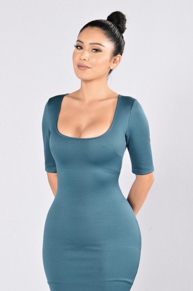 Easy Target Dress - Teal