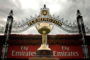 Flemington race way Melbourne Cup