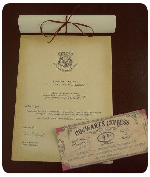 97 best images about Festa Harry Potter – Harry Potter Party Invitation