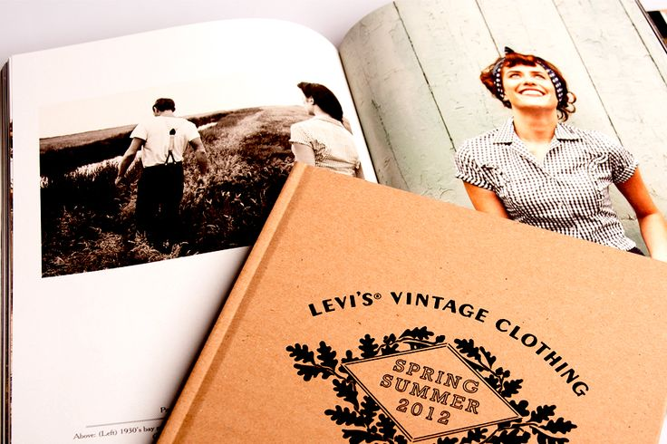 #levis #vintage #collection #print #catalog #fashion #lookbook