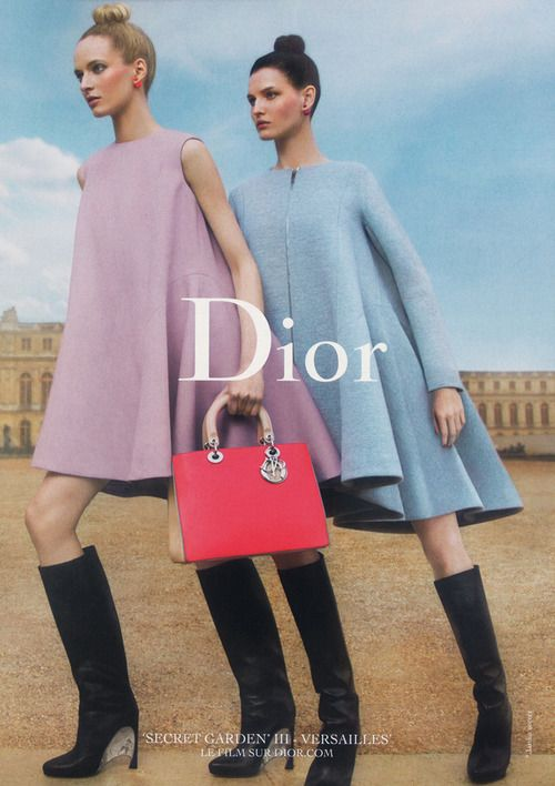 Daria Strokous x Inez & Vinoodh x Dior Secret Garden 2014 Campaign