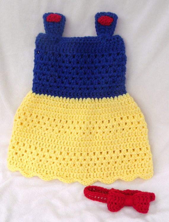 1000+ images about snow white dress crochet on Pinterest ...