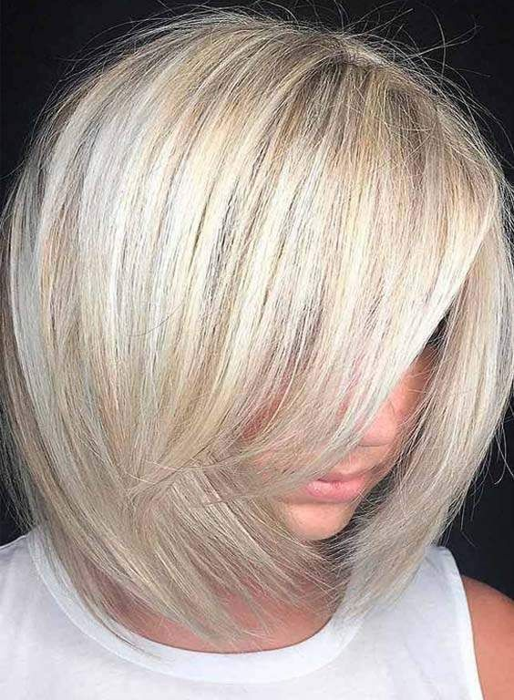 Inspirierende Kurze Blonde Frisuren 2018 Hair Colors Pinterest