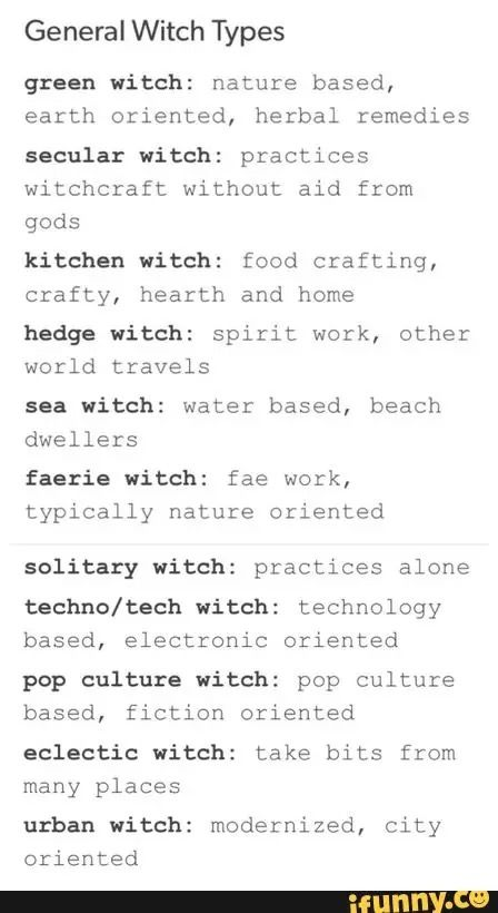 cosmic witch: astrology based, works mainly at night