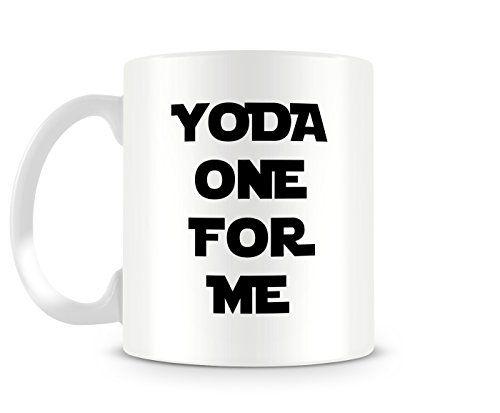 20 best cool star wars gifts images on pinterest gift ideas star funny coffee mug yoda one for me ceramic mug star wars inspired tea mug message mug funny mug geekery valentines day gift for him solutioingenieria Images