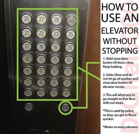 Hack an elevator