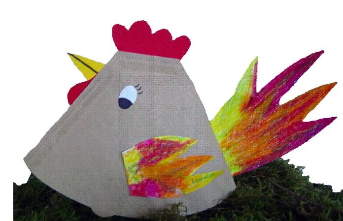 De Onderwijsstudio - Knutselwerkje kip