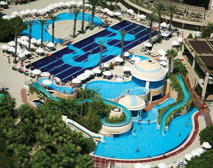 Hôtel Limak Atlantis *****, Riviera Turque, Belek http://bit.ly/LimakAtlantis