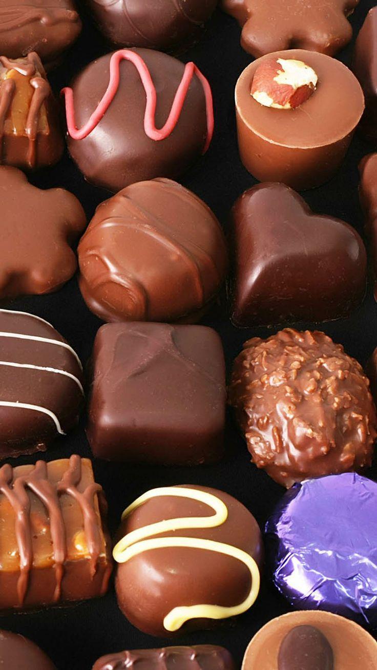 Флэш, картинка с шоколадом 94