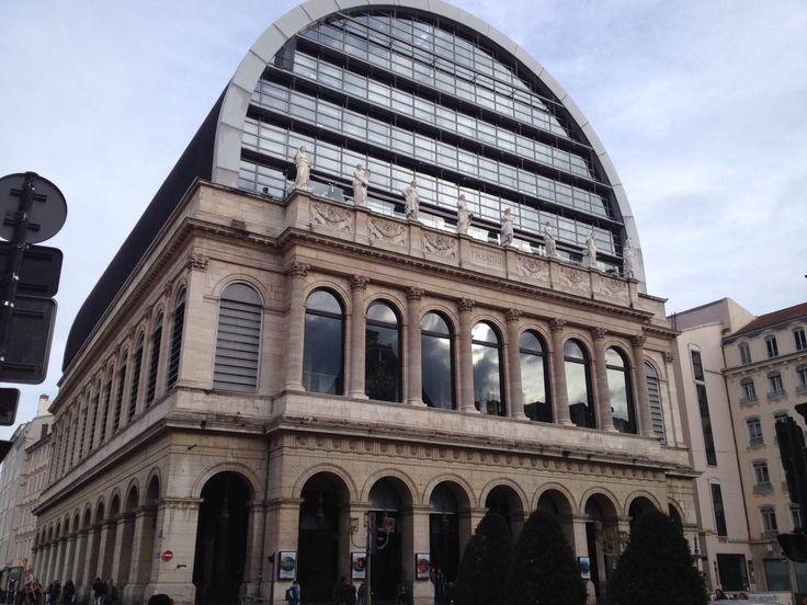 Palacio de la ópera de Lyon. Francia