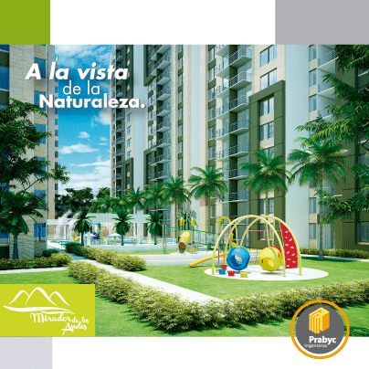 ¡#Juegos para los más pequeños!  En el #Parque Múltiple #Infantil tus hijos desarrollarán todas sus habilidades en los juegos como el #rodadero, #pasamanos, malla para escalar, tubo deslizante, túnel plástico, #casa de muñecas y teatrino.  #apartamentos #Ibagué #Colombia #arquitectura #diseñoarquitectonico #construcción #natural