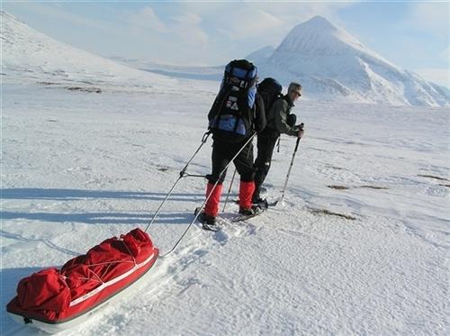 Sarek Tour, by: Peter Rijs. Tags: #outdoor activities #sarek #snowshoes