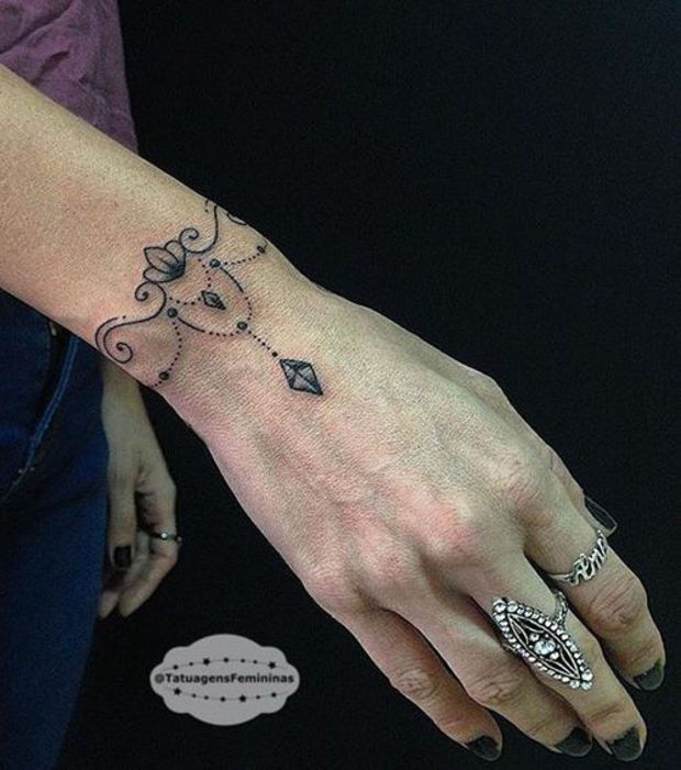 tatouage poignet bracelet discret. Black Bedroom Furniture Sets. Home Design Ideas