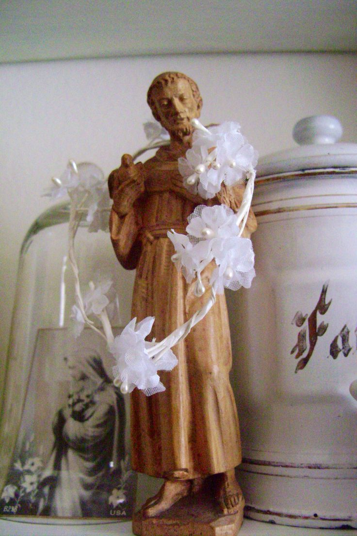Saint Francis (found at the antique fair at the Voortrekker Monument)
