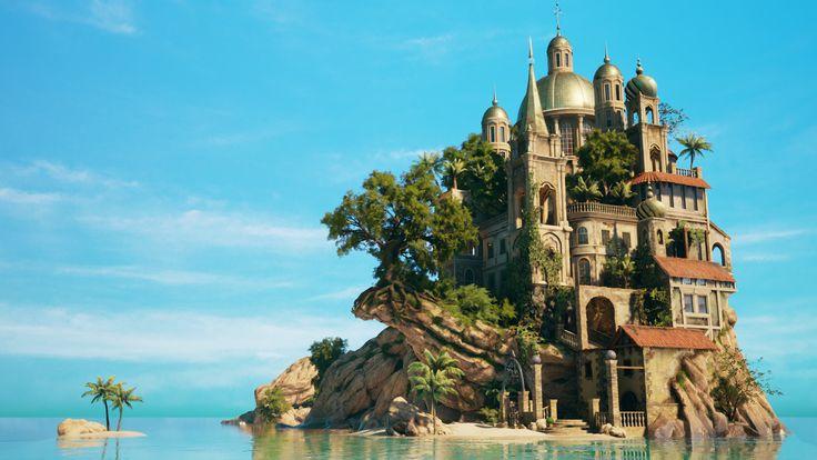 ArtStation - Paradise Island - Game Environment Reel 2016, Stef Velzeboer
