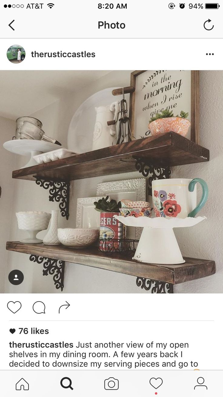 Hobby Lobby brackets, stained boards, and pioneer woman cups from Walmart- super cute!