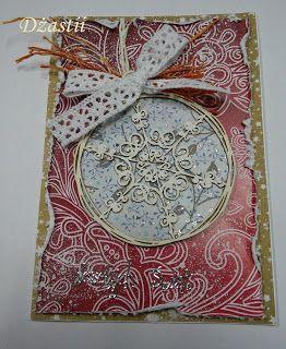 U Dżastii: Karteczki z bombką :)