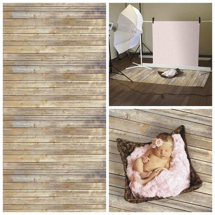 Photography Backdrops Paper Vintage Wood Floor Backdrop Wall Antique Design NEW #EllaBella