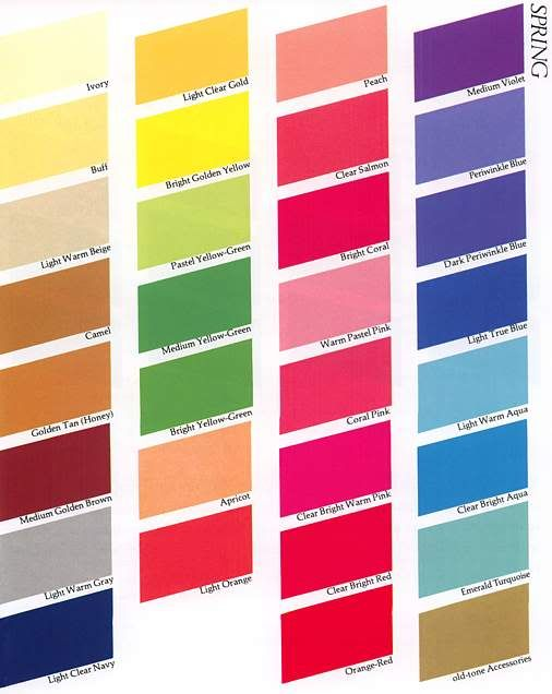 Colour Me Beautiful - Spring.jpg photo: Spring seasonal palette This photo was uploaded by 4cathy4