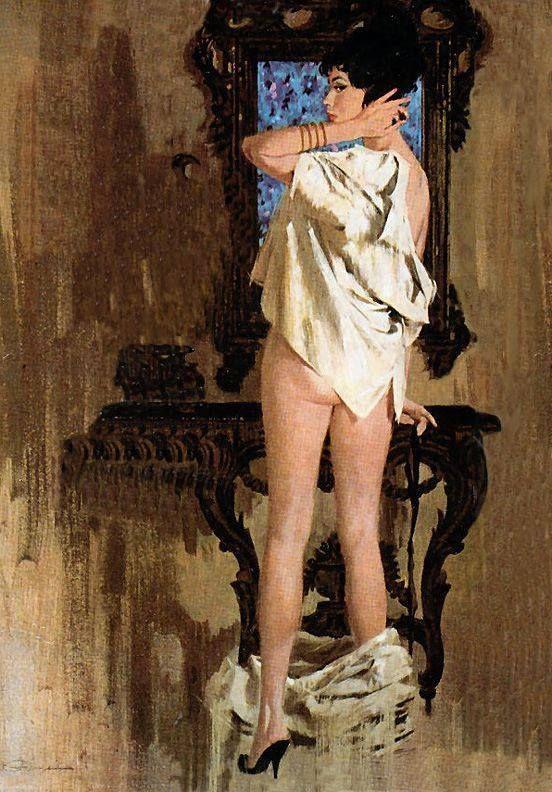 Donna allo Specchio nell'Arte ✿ – Catherine La Rose Poesia e Arte   Mark Geoffrey Kirshner