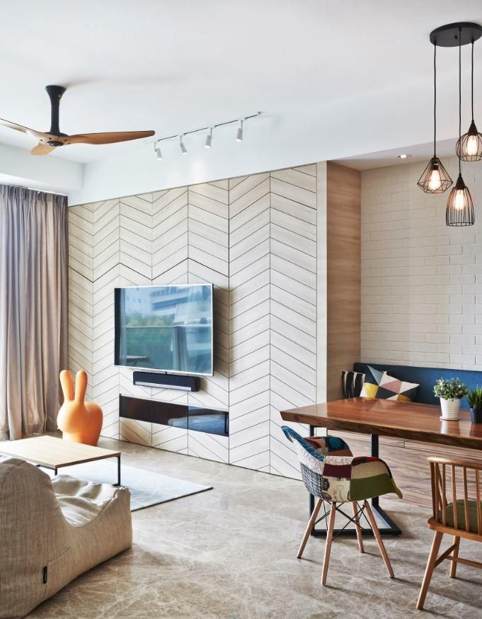Corals Space Define Tv Wall Feature Wall Living Room Tv Feature
