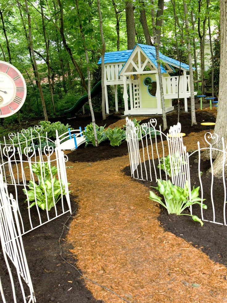 1000 images about playground on pinterest play houses for Whimsical playhouse blueprints