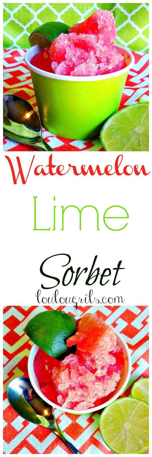 Lou Lou Girls : Watermelon Lime Sorbet