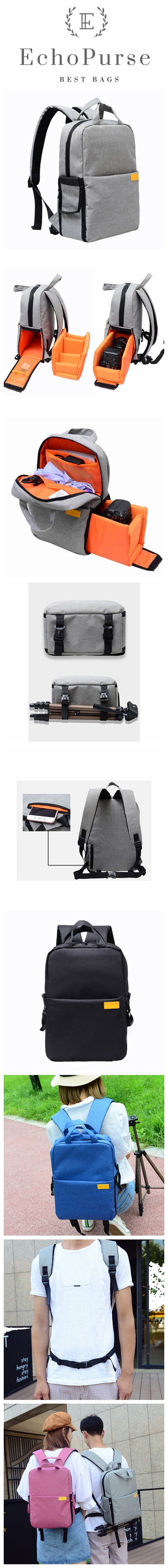Professional Outdoor Photography Bag, Multifunctional Camera Backpack, Micro-Camera Pouch B530