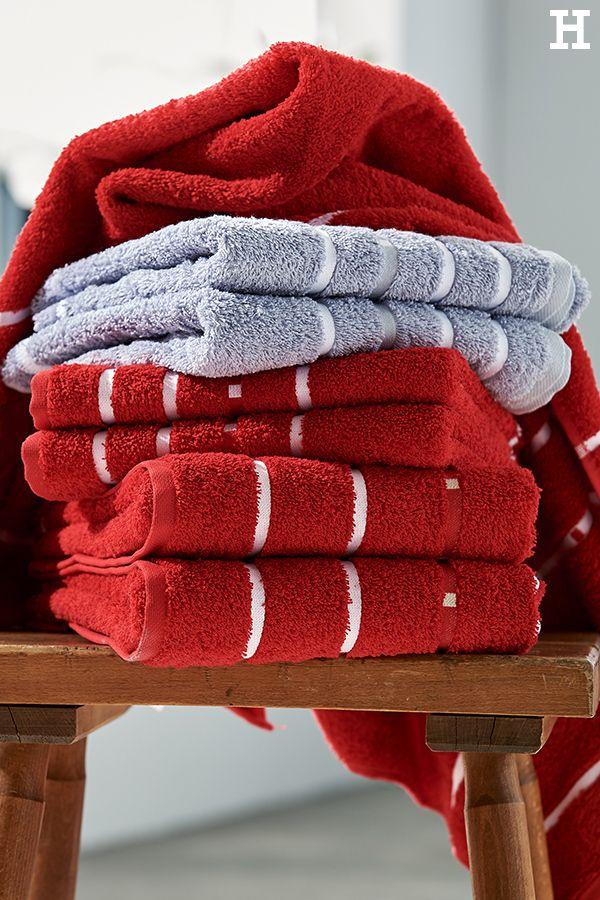 Handtücher in unterschiedlichen Größen #meinhöffi Badezimmer