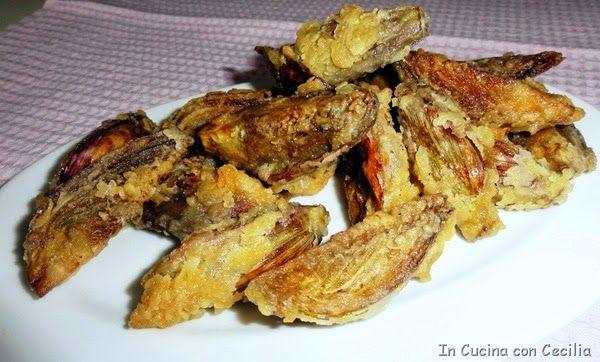 Castraure fritte