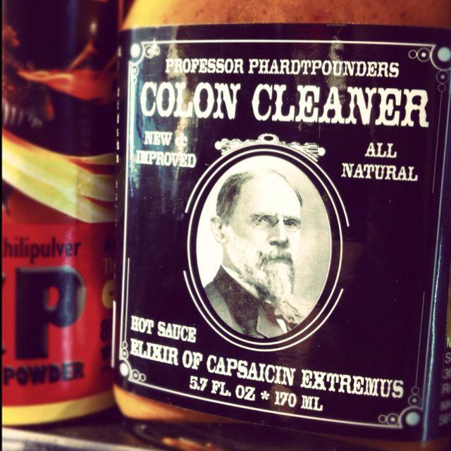 Super Hot 'Colon Cleaner' Chilli Sauce