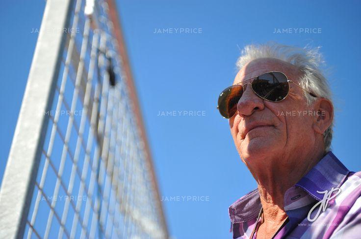 Nov 15-18, 2012: John Button, Jenson Button's father. ..© Jamey Price/XPB.cc