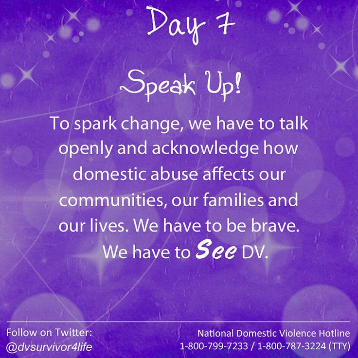 Domestic Violence Awareness Month 2015