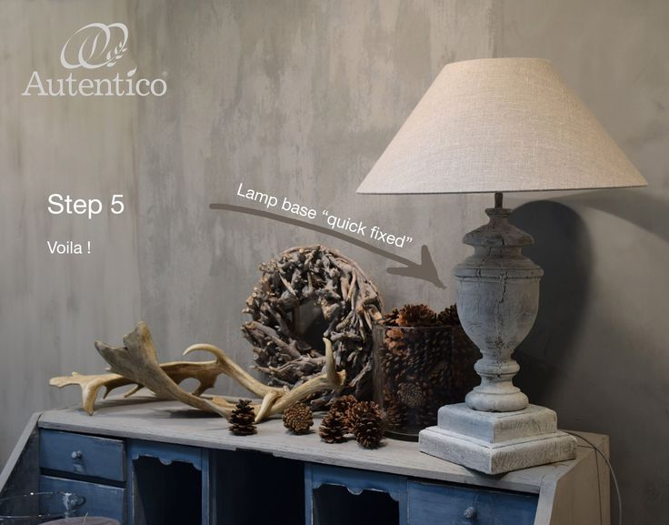 Autentico Quick-fix step 5. An easy way to make a beautiful patina.