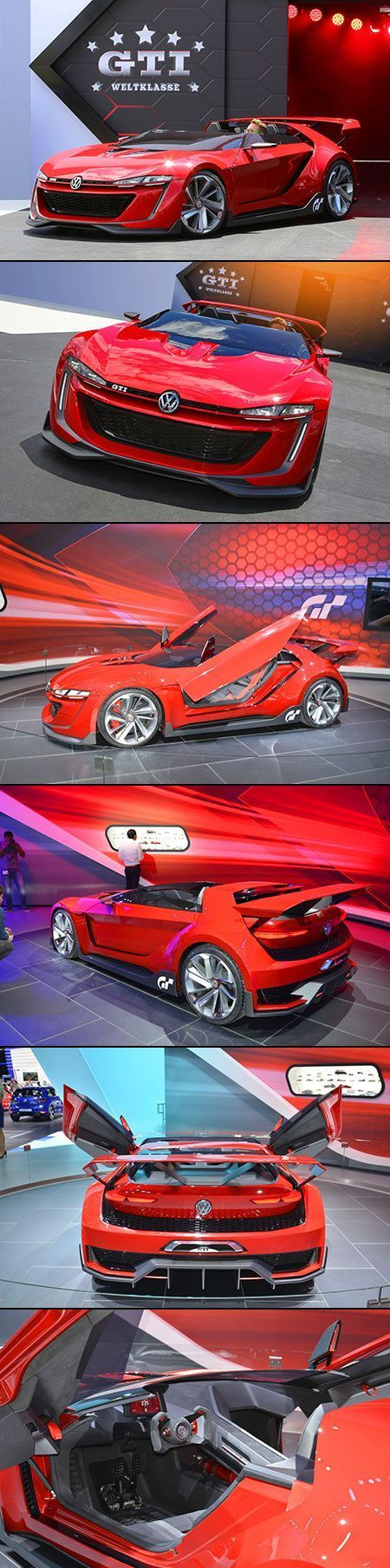 Concept Car from VW Looks Futuristic and Out of a Game