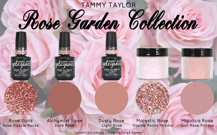 Tammy Taylor Nails Rose Garden Collection TammyTaylorNails.com