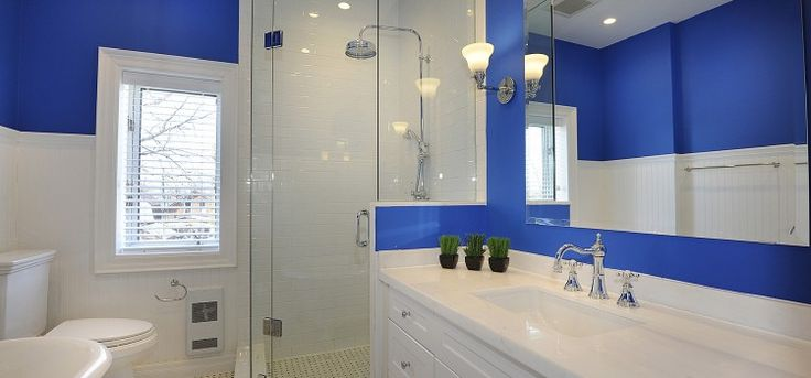 Bathroom painting by ColourWorks Painting Design Toronto
