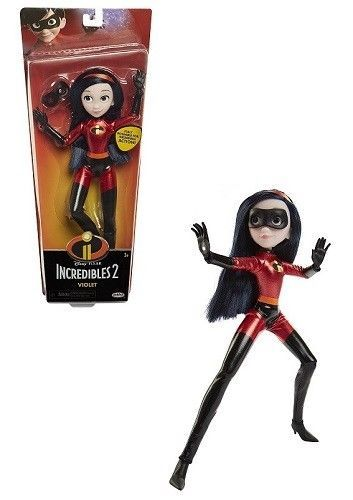 disney incredibles 2 violet 11 inches action figure articulated doll toy new jakks ebay