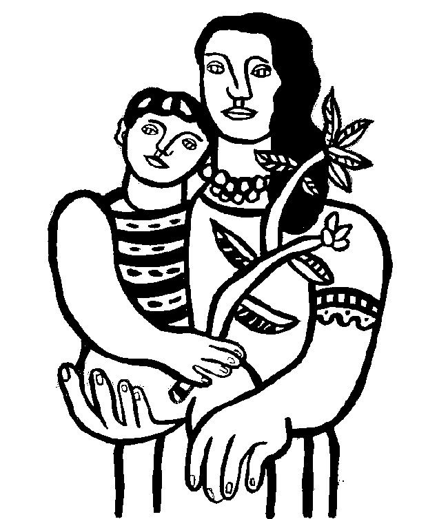 Fernand Léger: Mother and child