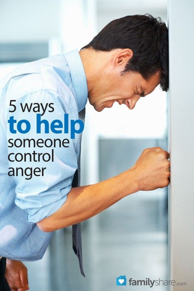 How to help someone you care for control anger and restore the bond aggressive outbursts can break.
