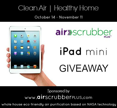 90 best electronics giveaways images on pinterest giveaways ipad mini win this awesome giveaway sponsored by air scrubber plus get fandeluxe Images