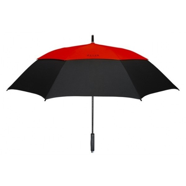 DAVEK-GOLF Umbrella Deep Red - VALENTINES FOR HIM... - MR BOSTON for... via Polyvore