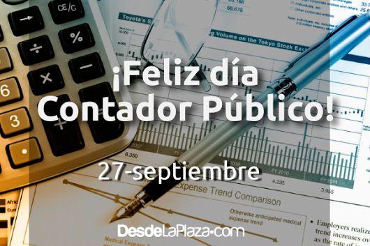 Hoy celebramos el día del contador público