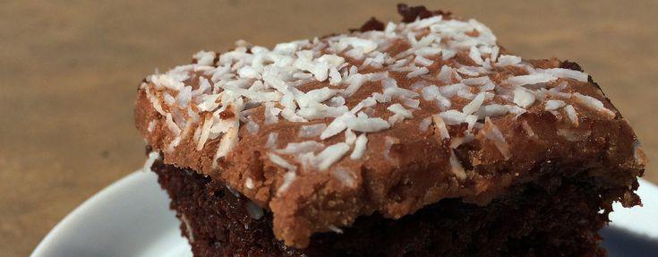 Kakefrosting med sjokoladesmak