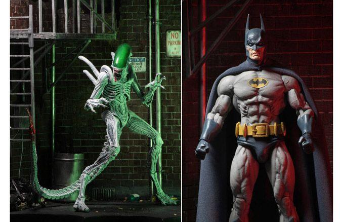 Batman vs Alien Action Figure 2-Pack