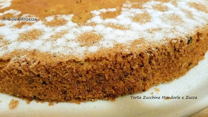 Torta Zucchine Mandorle e Zucca