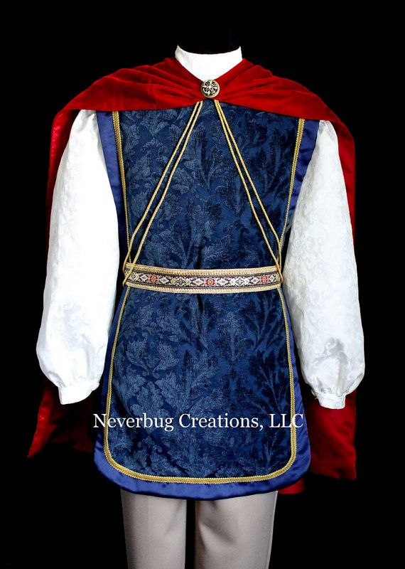 Snow White's Prince Charming Custom Costume by NeverbugCreations