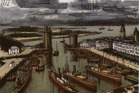 Bernard Buffet Le Port de La Rochelle